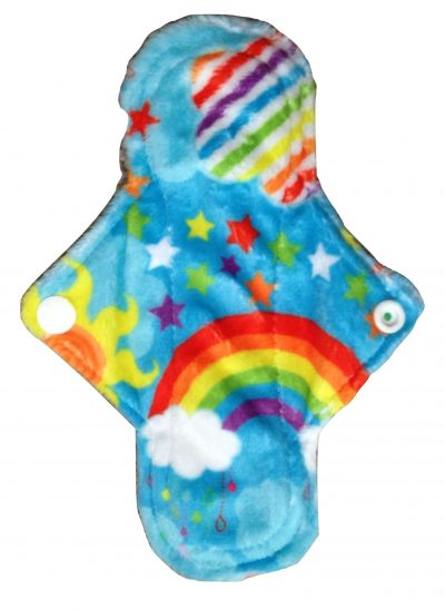 Eco Rainbow Best Night Ever Aqua Plush 7'' Mini Pad
