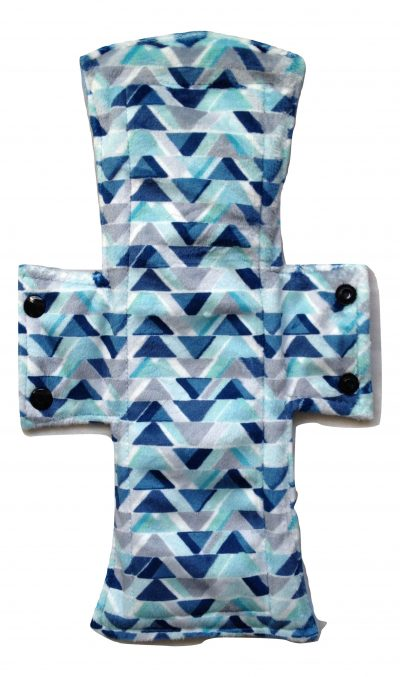 Treehugger Triangles Plush Night/Postpartum Pad
