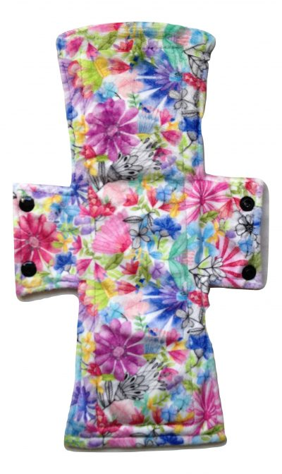 Treehugger Bright Flowers Plush Night/Postpartum Pad